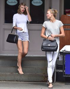 Taylor Swift and Karlie Kloss are the most stylish duo on the street.