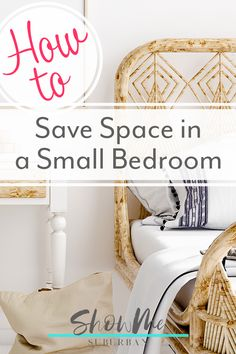 8 Easy Ways to Maximize Space in a Small Bedroom I needed some tips and ideas for how to save space in my small bedroom. This article gave me so much info on tiny bedroom storage and organization hacks! It helped me maximize the space in my room. Under Bed Organization, Small Bedroom Organization, Organization Hacks, Organized Bedroom, Vintage Bedroom Decor, Baby Room Decor, Home Decor Bedroom, Space Saving Storage, Storage Spaces