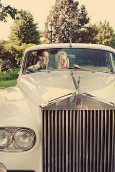 I want to arrive to and leave from my wedding in a car like this!