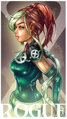 Tim Shumate's Rouge. She was my favorite x-men character for YEARS! I love this.