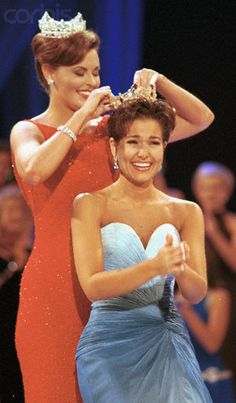 Miss America 2000 - Heather French (KY) I was so excited to get to go to Atlantic City to witness this moment for Heather, Wow, a lasting memory for myself!