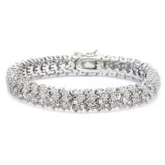 Finesque Overlay 1 ct TDW Diamond Bracelet with Red Bow Gift Box ($64) ❤ liked on Polyvore featuring jewelry, bracelets, accessories, diamond jewellery, special occasion jewelry, sparkle jewelry, red jewellery and diamond bangles