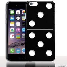 Housse Silicone iPhone 6s Domino - Protection Souple design Customisé. #iPhone6s #Fashion