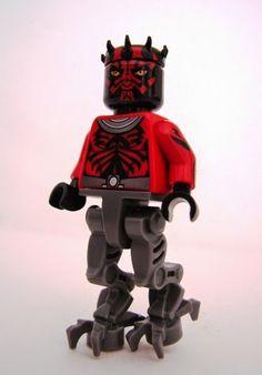 Toyriffic: Darth Maul Android Body LEGO minifigure