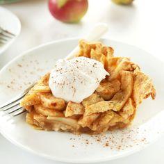 Pumpkin-Spiced Apple Pie