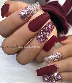 46 Elegant Acrylic Ombre Burgundy Coffin Nails Design For Short And Long Nails -. 46 Elegant Acrylic Ombre Burgundy Coffin Nails Design For Short And Long Nails - Page 39 of 46 - Coffin Burgundy Acrylic Nails, Burgundy Nail Designs, Best Acrylic Nails, Short Nail Designs, Acrylic Nail Designs, Nail Art Designs, Ombre Burgundy, Nails Design, Maroon Nails Burgundy