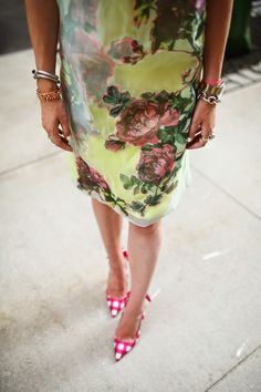Great use of pattern and prints