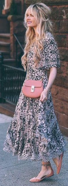 Paisley Print Maxi Dress | Barefoot Blonde