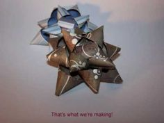 How to make: Paper Gift Bows
