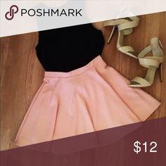 Baby Pink Skater Skirt Beautiful Baby Pink Skater Skirt  NWOT , Size XS Wet Seal Skirts Mini