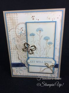 Wild about Flowers, Timeless Texture, Stampin'Up!, Frenchie Team