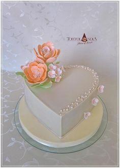 Romantic cake by Tortolandia