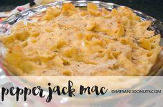 Pepper Jack Mac Recipe via DimesandDonuts.com