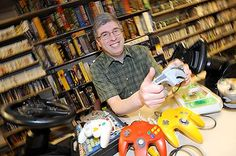Librarian expands video game, comic book collections