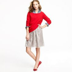 Sparkler skirt in tinsel lace-wish it was  like 20 bucks! I love this sparkly skirt!