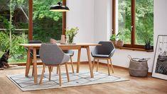 Krzesła do jadalni - piękne i wygodne modele - Galeria - Dobrzemieszkaj.pl Kitchen Dining, Dining Room, Feng Shui, Future House, Dining Chairs, Studio, Furniture, Home Decor, Design