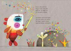 """QUEDA LA MÚSICA..."""" DE ANTONIO GARCÍA TEIJERO.Ilustración de Tesa Gonzalez"""