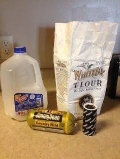 easy biscuits and gravy, best biscuits and gravy recipe, jimmy dean sausage gravy, buttermilk biscuits<br> Homemade Gravy For Biscuits, Biscuit N Gravy Recipe, Sausage Gravy And Biscuits, Buttermilk Biscuits, Flaky Biscuits, Biscuit Mix, Breakfast Dishes, Best Breakfast, Breakfast Ideas