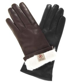 Women's Italian Rabbit Fur Gloves By Fratelli Orsini   Free USA Shipping at Leather Gloves Online