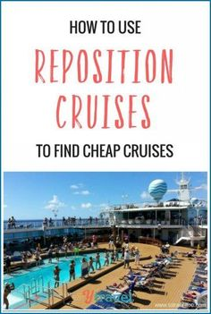 Have you considered repositioning cruises as a cheap way to travel? Check out our experiences and tips inside! Have you considered repositioning cruises as a cheap way to travel? Check out our reposition cruise experience and tips inside! Best Cruise, Cruise Tips, Cruise Travel, Cruise Vacation, Italy Vacation, Travel Europe, Repositioning Cruises, Family Vacation Destinations, Vacations