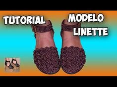 Sandalias de ganchillo fáciles | Crochet sandals - YouTube