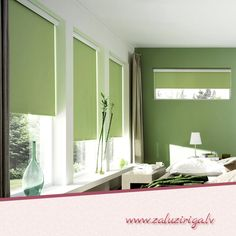 Best Home Design, Room Design, Interior and Exterior: Green Bedroom Decor for Small Bedroom Designs Green Bedroom Design, Green Bedroom Decor, Bedroom Colors, Bedroom Ideas, Design Room, Bedroom Designs, Cortina Roller Black Out, Couleur Feng Shui, Colors