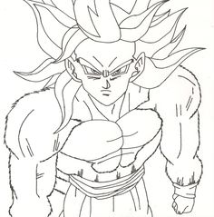 amazing Dragon ball z Coloring pages for kids boys and girls