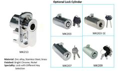 The attached photo is L-handle vending machine lock,widely used in Japan,so also called Japanese vending machine lock,on the right of the photo is the optional lock cylinder. #Lhandlevendinglock #Japanesevendingmachinelock #Japaneselock #lockcylinder