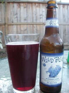 wild blue.  blueberry lager. - BEST DRNK EVER!!!lol
