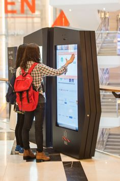 Interactive directories have been replacing basic maps inside malls and even hotels. Users are able to find information and directions easily compared to a poster overloaded with a list of stores. This approach has kept the ease of shopping in mind helping visitors spend more time enjoying the mall rather than standing in front of the map looking for store 212 in a tiny rectangle.
