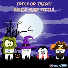 Halloween and brushing