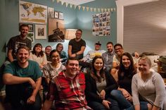 This crew got together for dinner last night to hear how God is working in Croatia through Josiah Venture ministries.