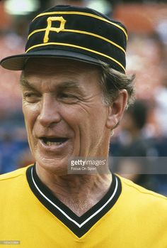 Manager <a gi-track='captionPersonalityLinkClicked' href=/galleries/search?phrase=Chuck+Tanner&family=editorial&specificpeople=707183 ng-click='$event.stopPropagation()'>Chuck Tanner</a> #7 of the Pittsburgh Pirates looks on before an Major League Baseball game against the New York Mets circa 1981 at Shea Stadium in the Queens borough of New York City. Tanner managed for the Pirates from 1977-85.