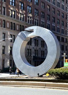NYC Current Exhibitions | Alexandre Arrechea, No Limits | Park Avenue Malls, Manhattan #ArtAroundTown