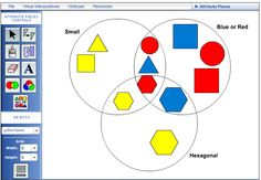 Here's a great site with a HUGE number of activities to use with virtual manipulatives.