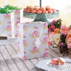 Your gifts are sure to bloom in these perfectly pretty gift bags. Featuring a feminine watercolor-inspired design of roses, these bags are great for birthday ...