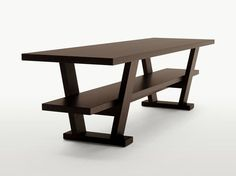 Wooden console table / writing desk CICERO by Maxalto, a brand of B