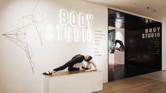 Nulty - Selfridges Body Studio, London - Department Entrance New Retail Concept Lighting