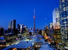 Beautiful downtown Toronto.