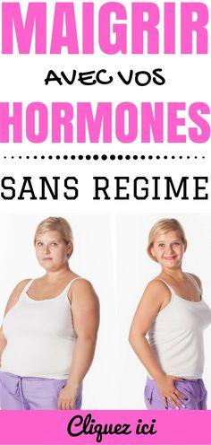 Perdre du poids rapidement sans Régime avec vos hormones !