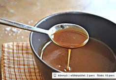 Sós karamella Naan, Chocolate Fondue, Homemade, Desserts, Food, Heaven, Kitchen, Caramel, Tailgate Desserts