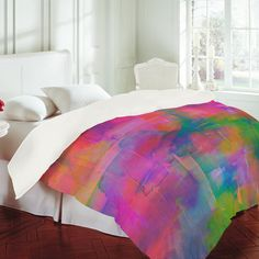 Amy Sia Crystal Pony Duvet Cover