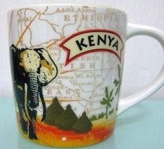 Elephant mug at Starbucks!