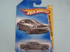 Dodge Challenger Srt8 2008 New Models #16 (Kmart Exclusive) Mtflk. Dk. Grey by Mattel. $5.98. Dodge Challenger SRT8 2008 New Models #16 (Kmart Exclusive) Mtflk. Dk. Grey. (Kmart Exclusive) Mtflk. Dk. Grey, w/Black Stripes w/'Hemi 6.1' on hood, Black Malaysia Base, w/OH5SP's