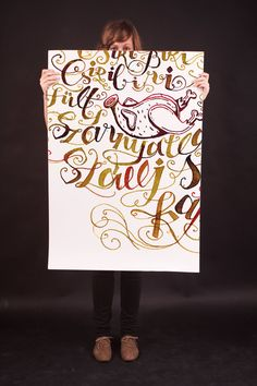 Typography Served  poems in calligraphy http://www.typographyserved.com/bigibogi/frame