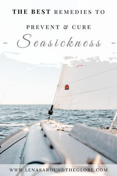 Wondering what are some of the best seasickness remedies? Cruise tips from experts will give you the answers you are looking for! | Remedies motion sickness | Seasickness remedies cruise tips | Seasickness on cruise | Cruise tips | First time cruiser | First time on a cruise | Cruise experts | Cruise blog | Cruise ideas
