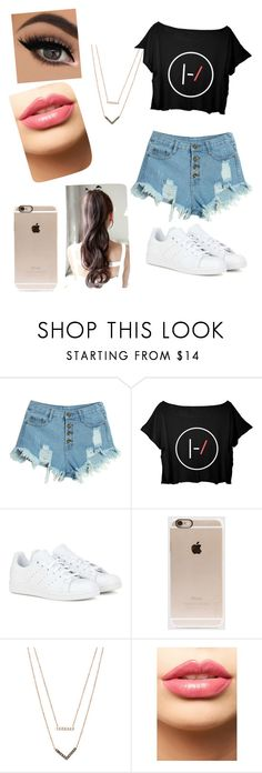 """""""Лл"""" by veronika-altanez on Polyvore featuring WithChic, adidas, Incase, Michael Kors, LASplash, mens, men, men's wear, mens wear and male"""