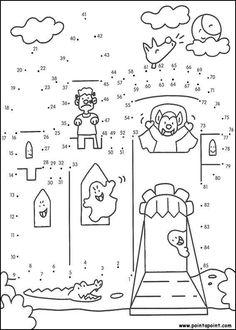 Fichas para unir puntos y formar o completar dibujos. Esencial para trabajar los números y unir puntos del 1 al 100 con niños de el primer ciclo de primaria. Halloween Puzzles, Halloween Worksheets, Halloween Activities, Halloween Themes, Book Activities, Halloween Scene, Colouring Pages, Coloring Pages For Kids, Dot To Dot Printables