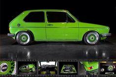 VW Green Golf