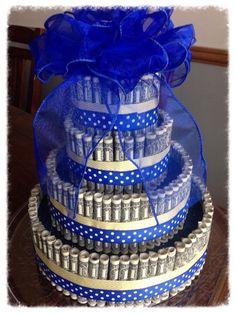 Very cool money cake!!